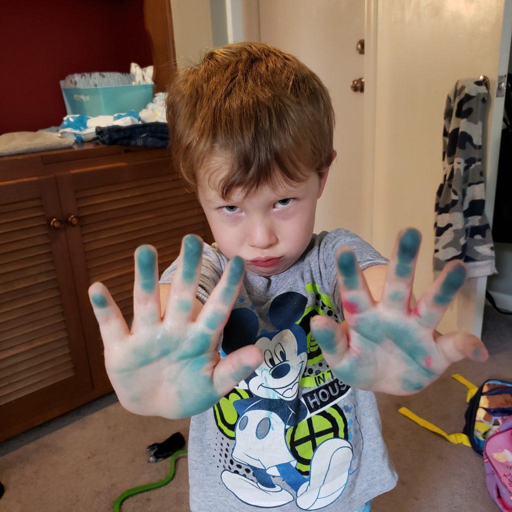 Bambini che colorano - Conseguenze naturali